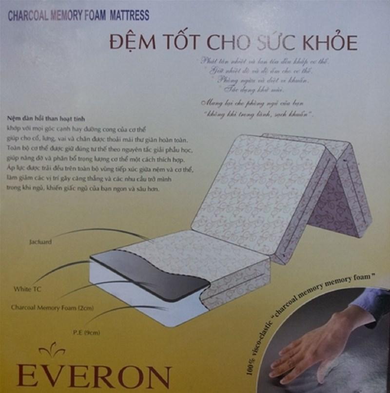 đệm than hoạt tính Everon