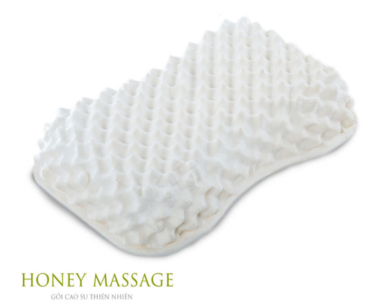 Gối cao su Vạn Thành Honey Massage